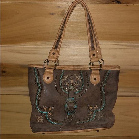 Montana West Handbags - Concealed Carry Handbag